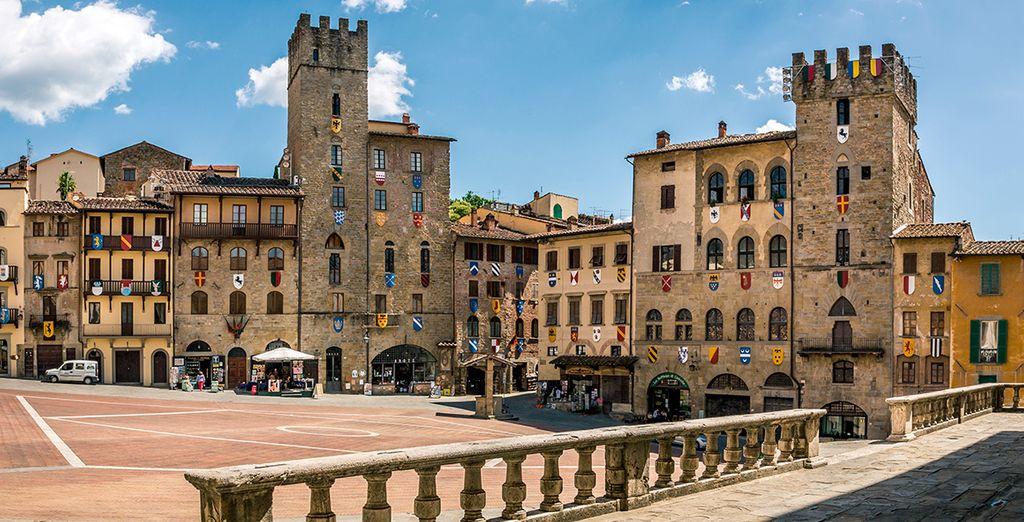 Arezzo, una ciudad que le encantará