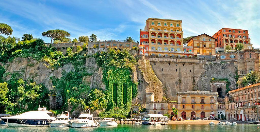 Venga a disfrutar del verano en Sorrento