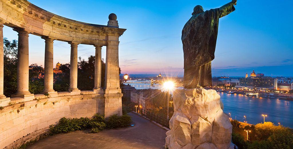 Budapest es una ciudad de belleza sorpredente...