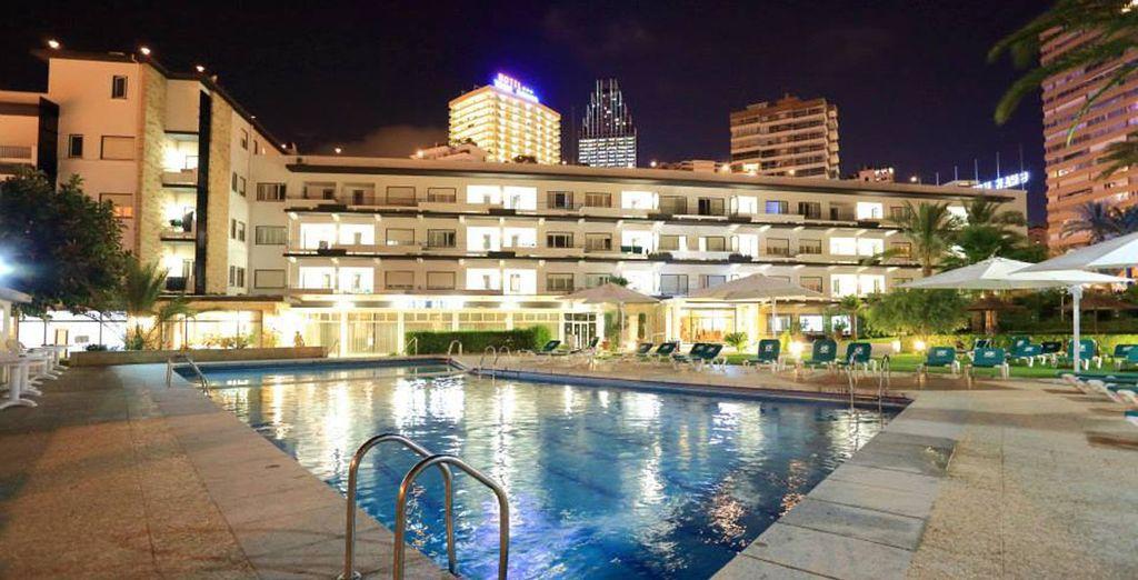 El Gran Hotel Delfín está ubicado en un emplazamiento inmejorable
