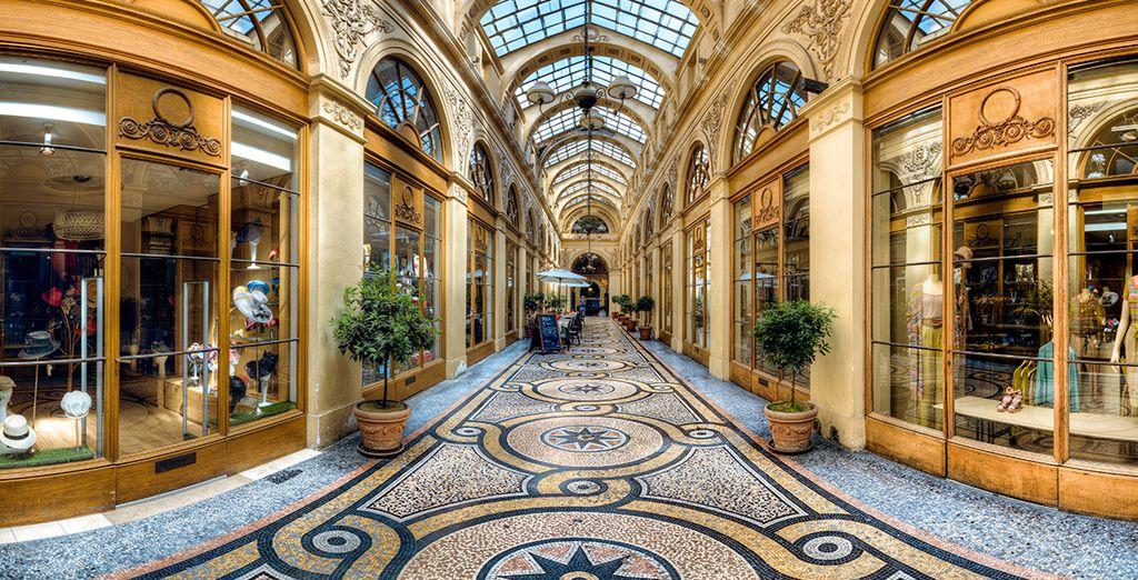 Visite las Galerias Vivienne