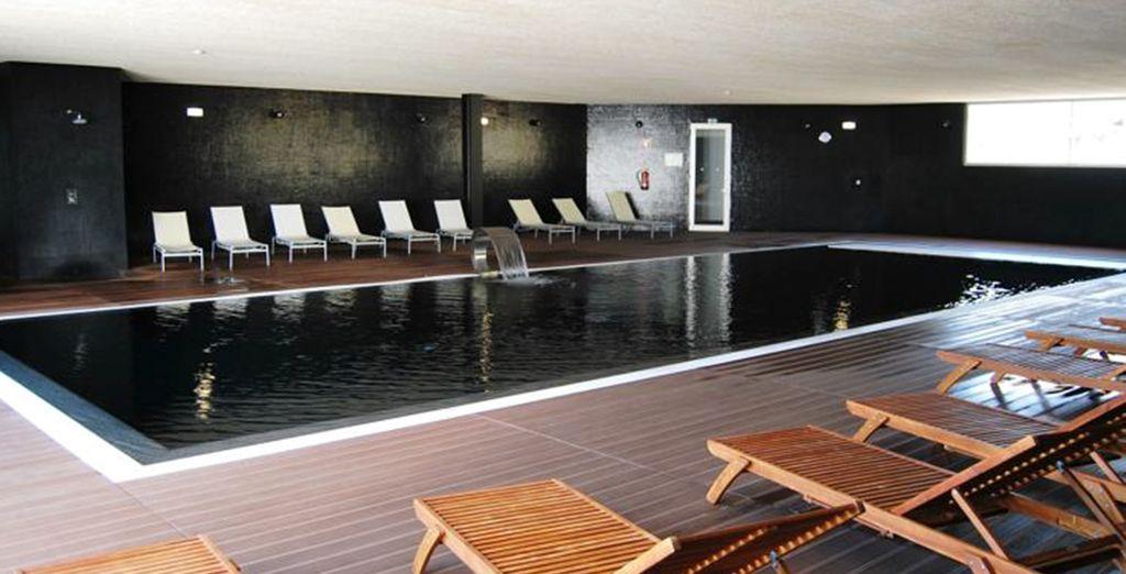 Disfrute del fantástico Spa del hotel