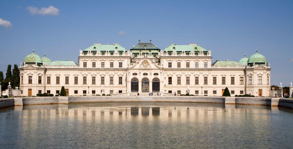 Admire el estilo barroco del Palacio de Belvedere