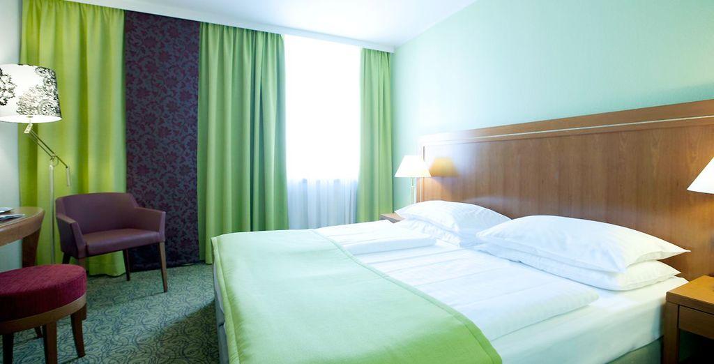 Hotel Mercure Wien Westbahnhof 4*, Viena