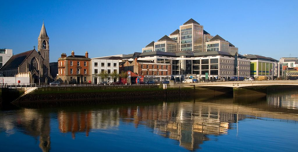 Contrastes del pasado y presente en la capital de Irlanda