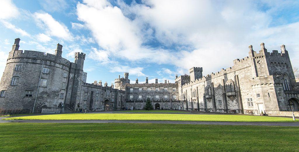 En Kilkenny se asombrará con la arquitectura de su castillo