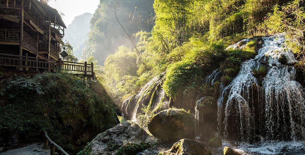 Las majestuosas Tres Gargantas del río Yangtzé