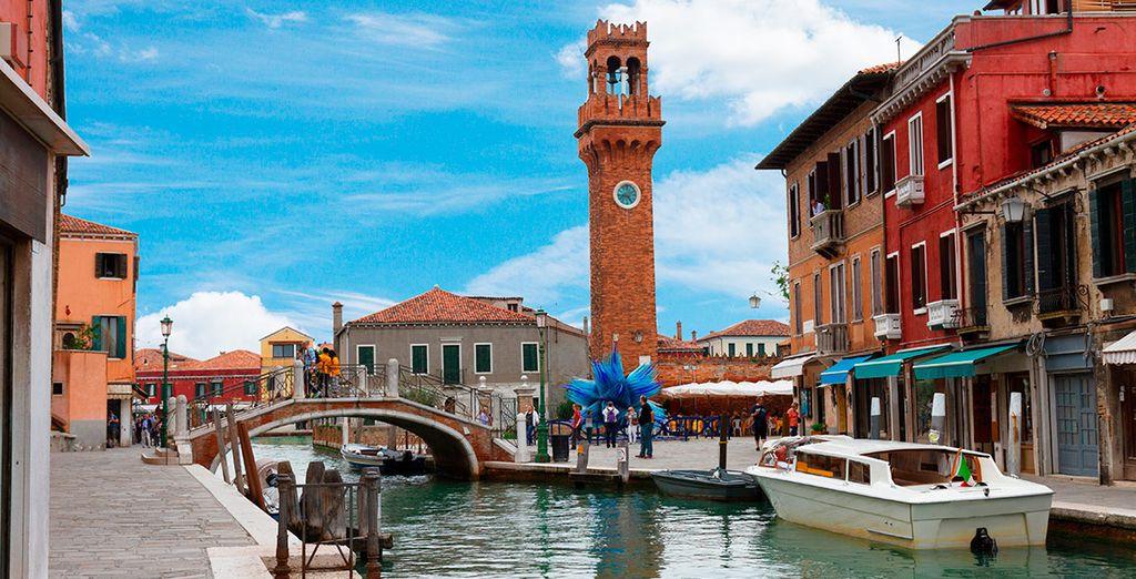 El cuarto día visitará la isla de Murano