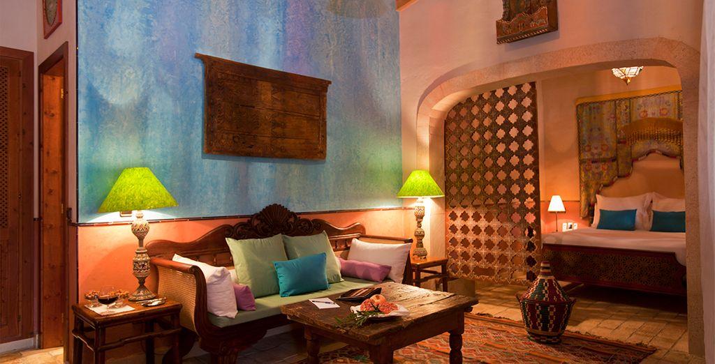 Suites totalmente originales y auténticas