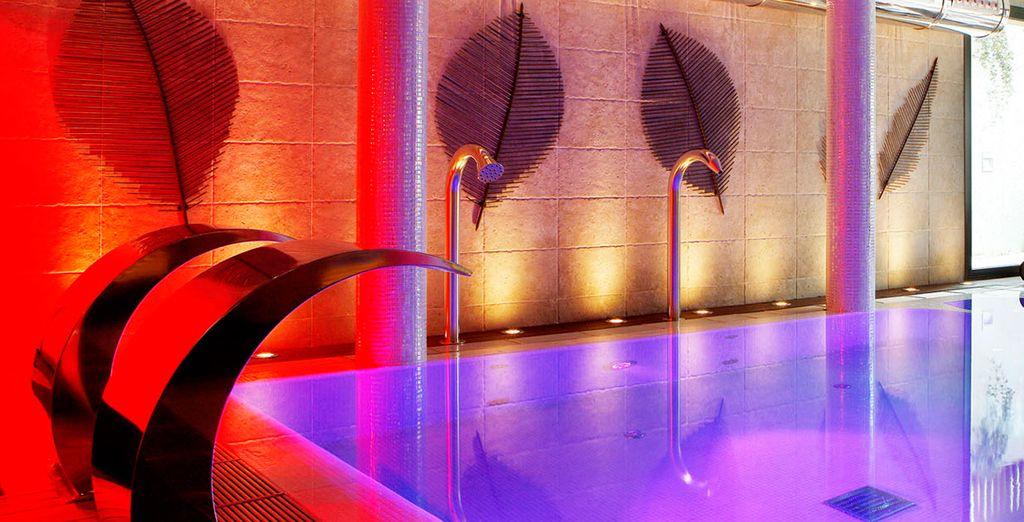 El Hotel cuenta con un lujoso Spa