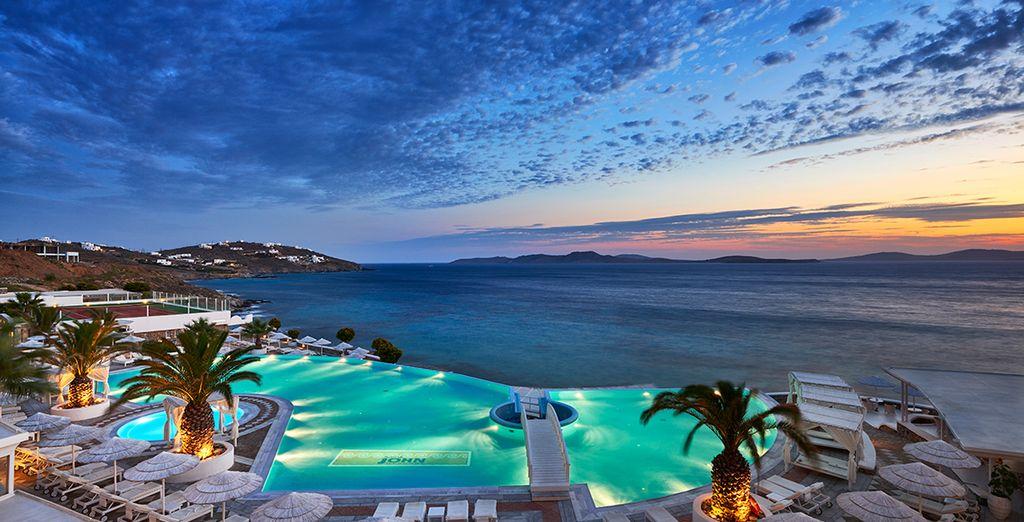 Un lugar único en todo el Egeo