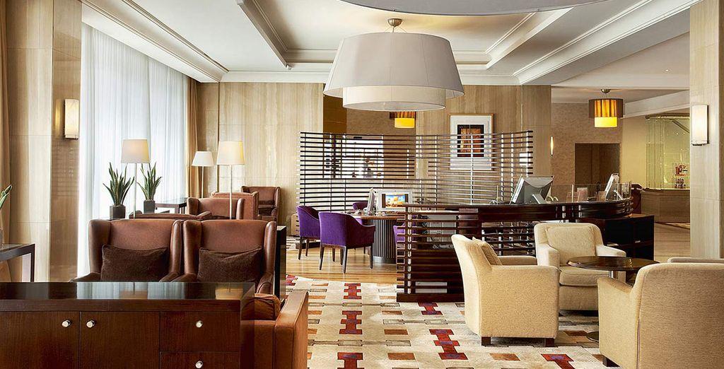 Salones confortables donde relajarse