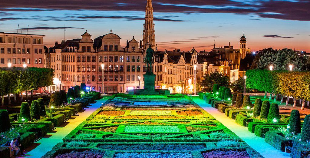 Bienvenido a Bruselas