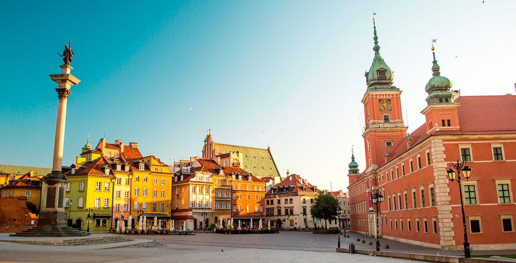 Su estancia perfecta en la capital polaca