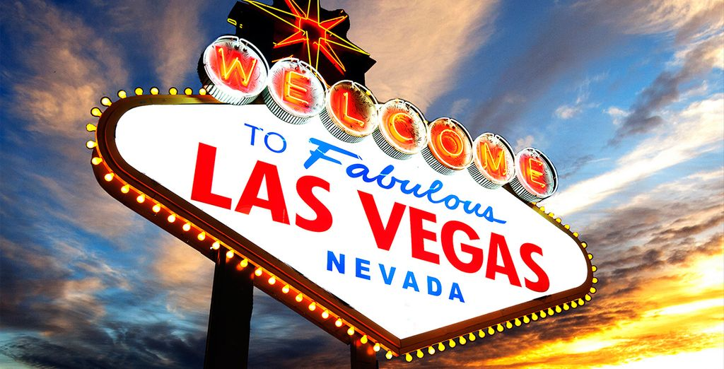 Bienvenido a Las Vegas, una ciudad única