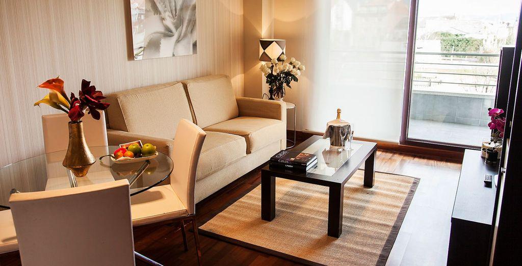 Apartamentos decorados con todo lujo de detalles en estilo vanguardista