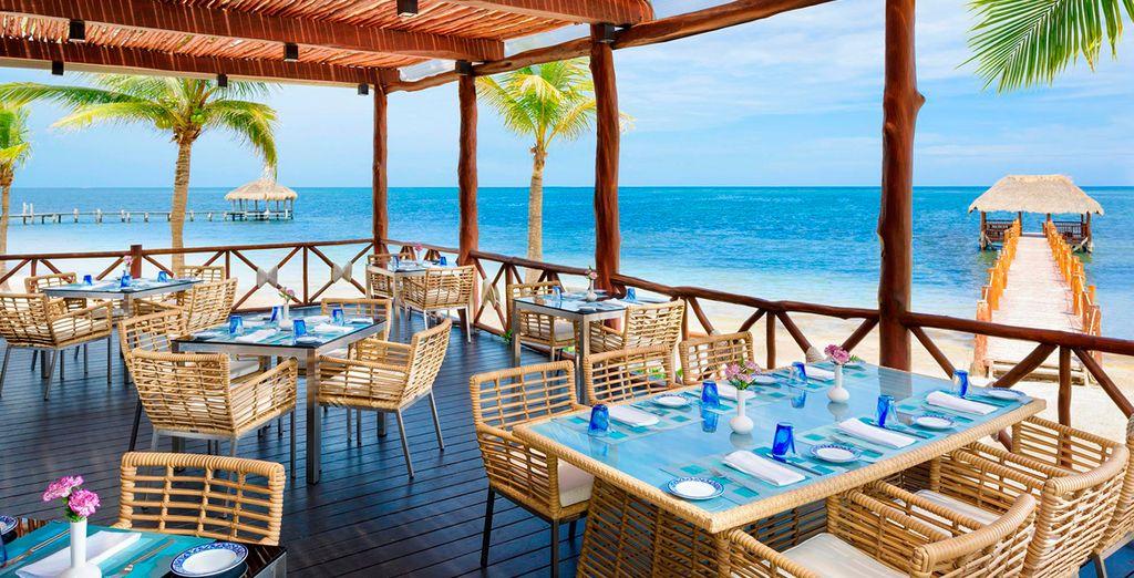 Azul Beach, Gourmet 5* te da la bienvenida