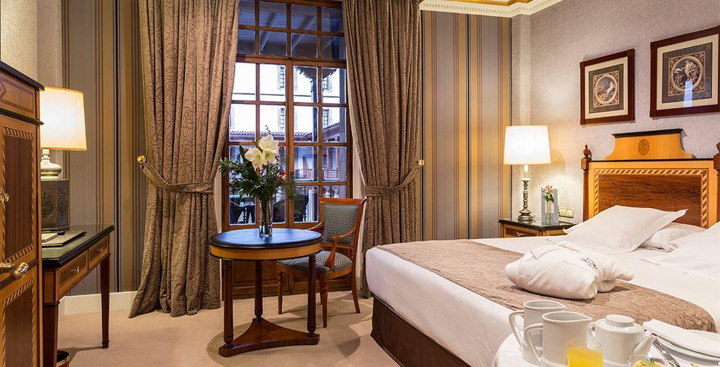 Descansa en tu habitación Premium