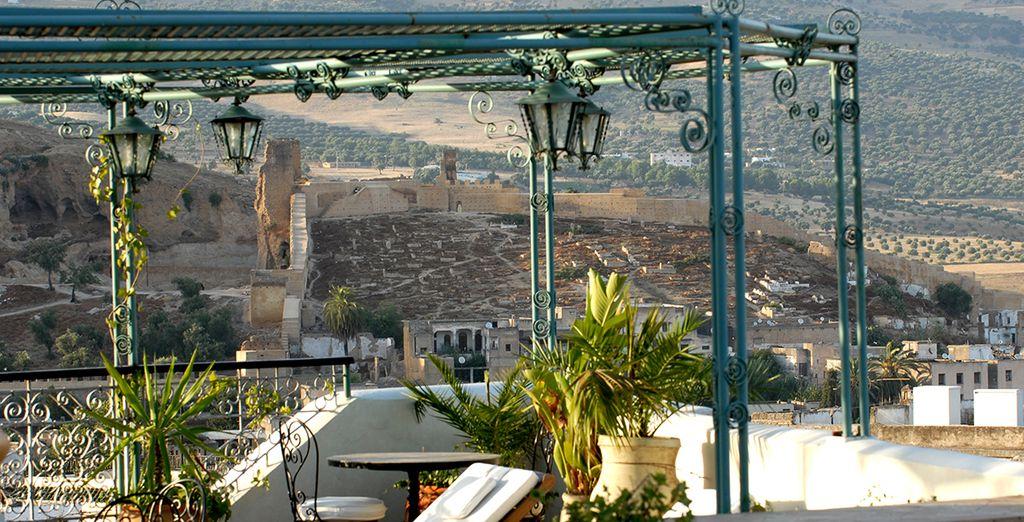 Disfruta del buen tiempo en Fez