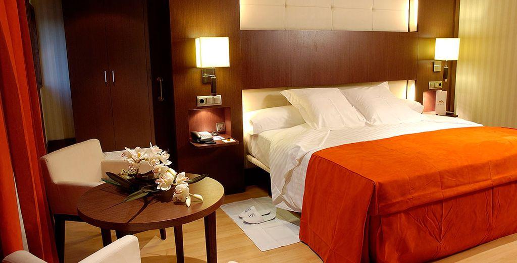 Una estancia confortable en tu habitación