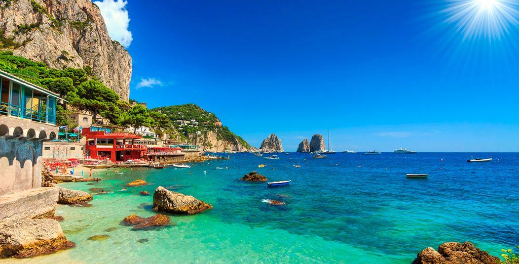 Una isla paradisíaca con una espléndida belleza natural