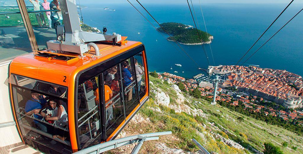 Contempla las vistas más asombrosas de la ciudad y las islas