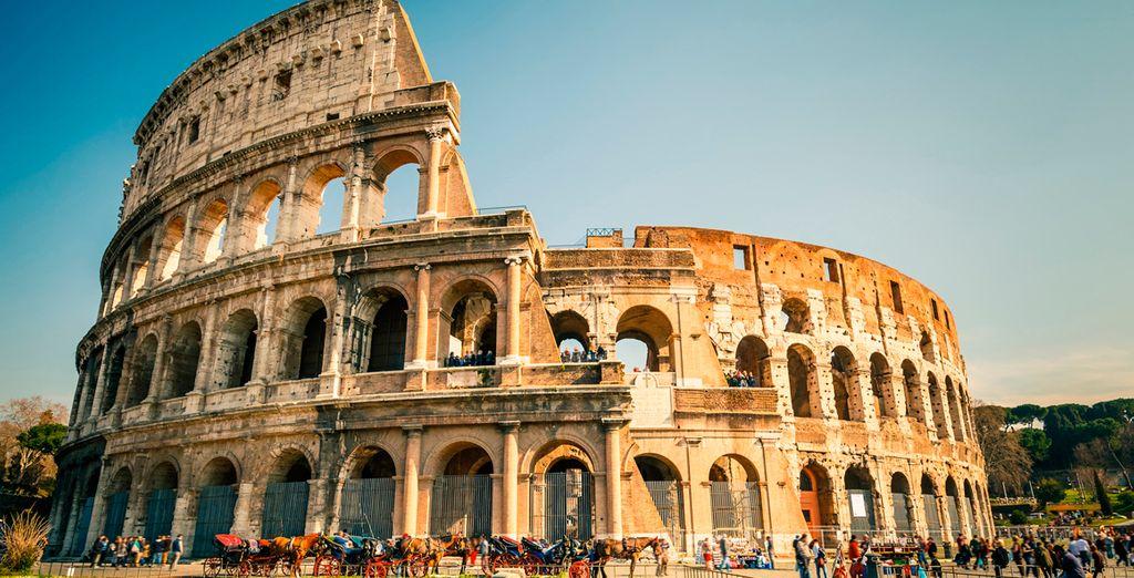 El Coliseo de Roma aún se mantiene en pie a pesar del pasar de los años