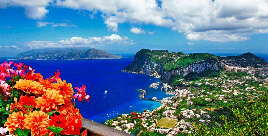 ... y la isla de Capri, antiguo refugio de emperadores