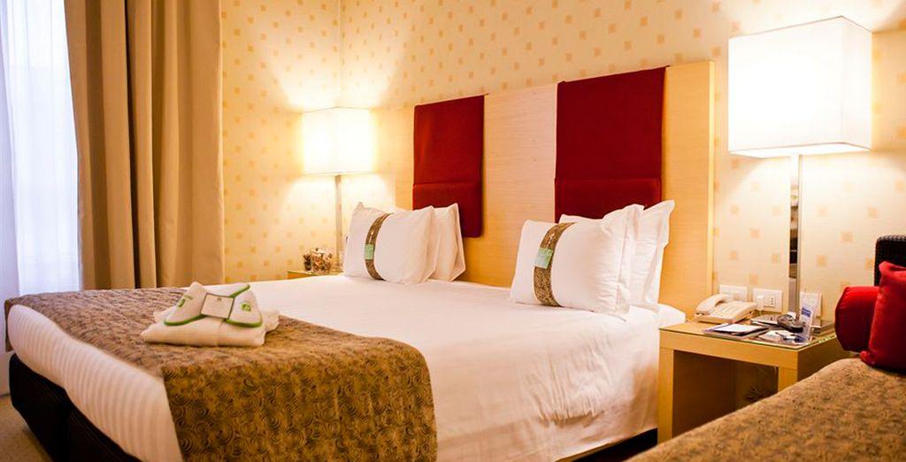 Te presentamos tu confortable habitación
