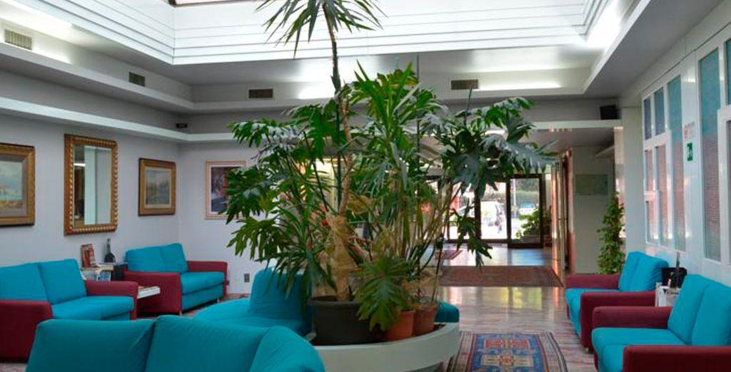 En la región del Véneto te alojarás en el hotel Alexander 4*