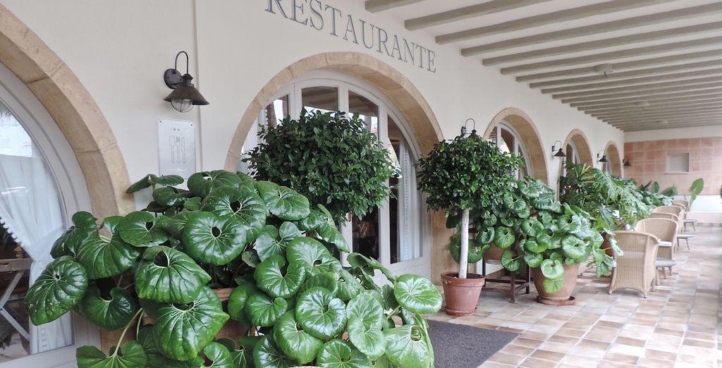 Un restaurante con amplia oferta gastronómica