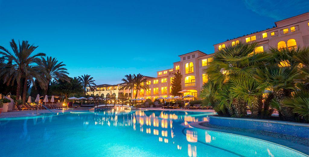 Un hotel que permite el disfrute de todos los sentidos
