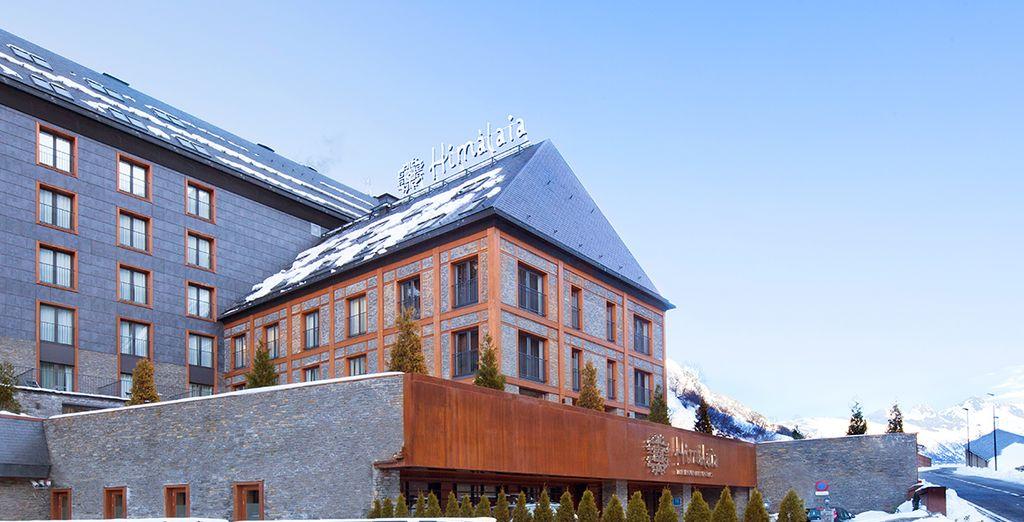 Hotel Himàlaia Baqueira 4* es perfecto para tus vacaciones en la montaña