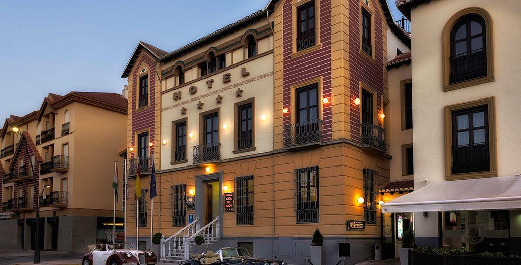 Un hotel con encanto cerca de la ciudad de Granada
