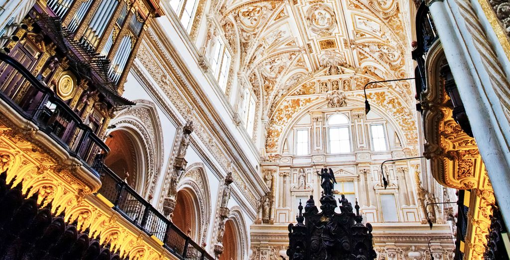 La impresionante catedral de Granada