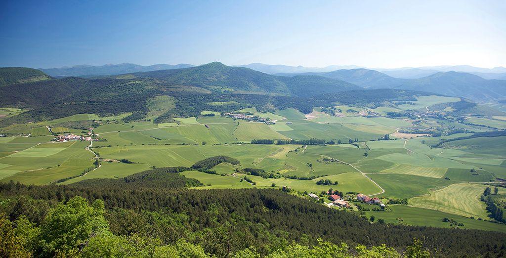 Deléitate con los magníficos panoramas de Navarra