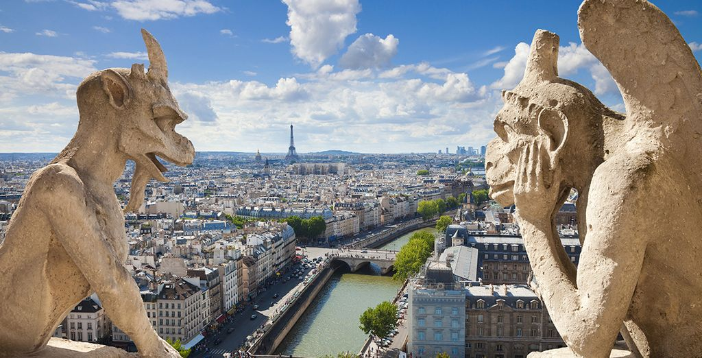 Déja que el romanticismo envuelva tu estancia en París