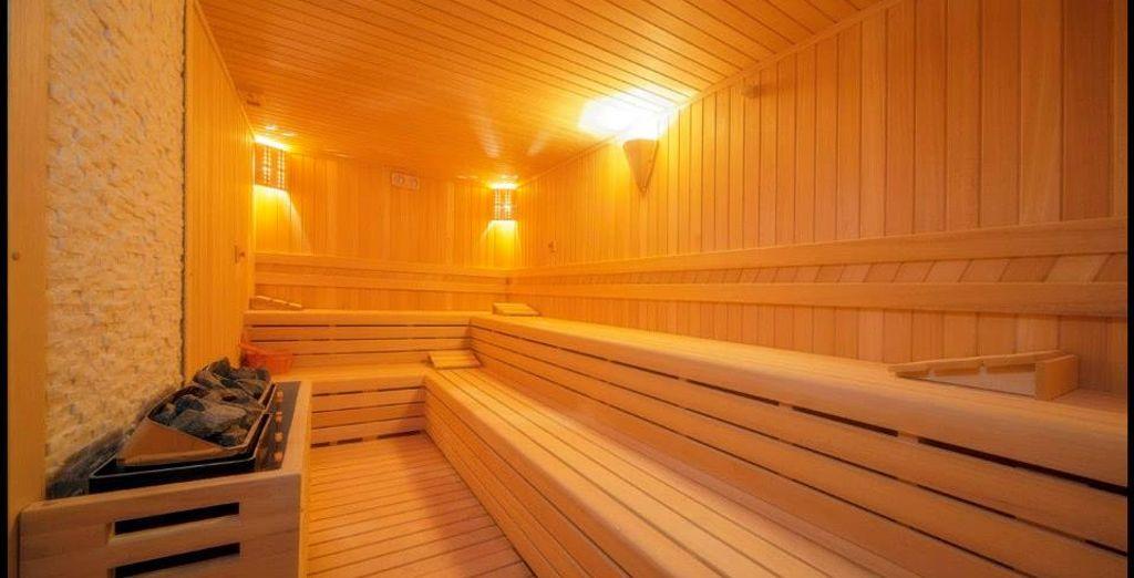 Disfruta de la Sauna...