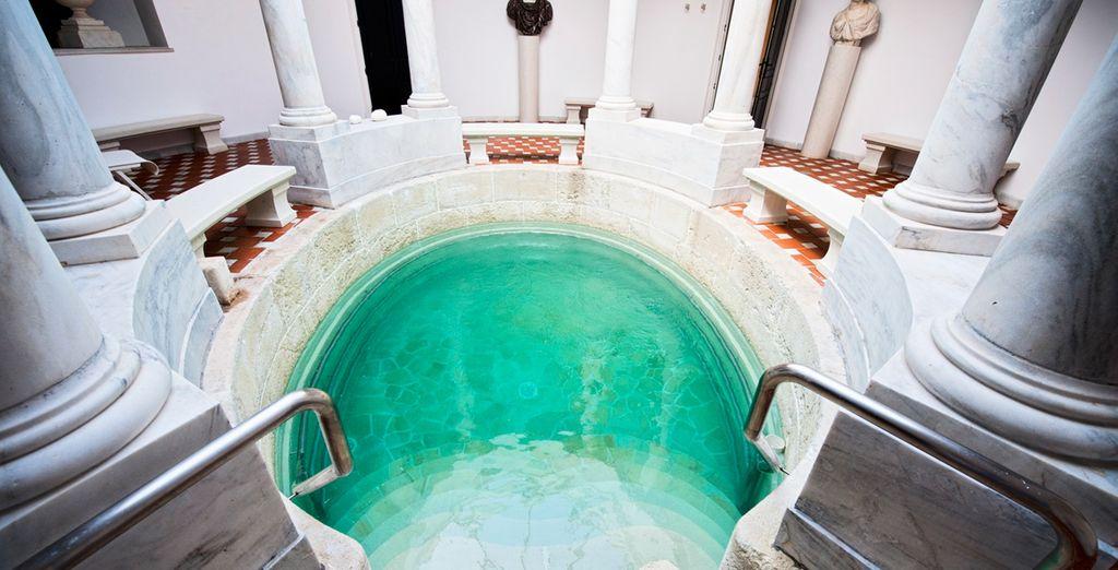 Relájate en estas aguas curativas
