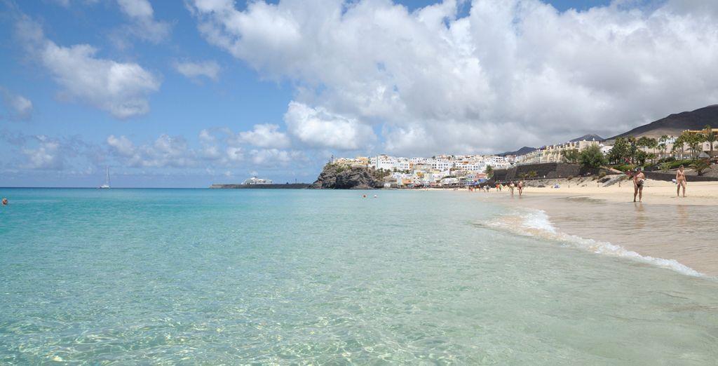 Playas de agua cristalina y arena blanca
