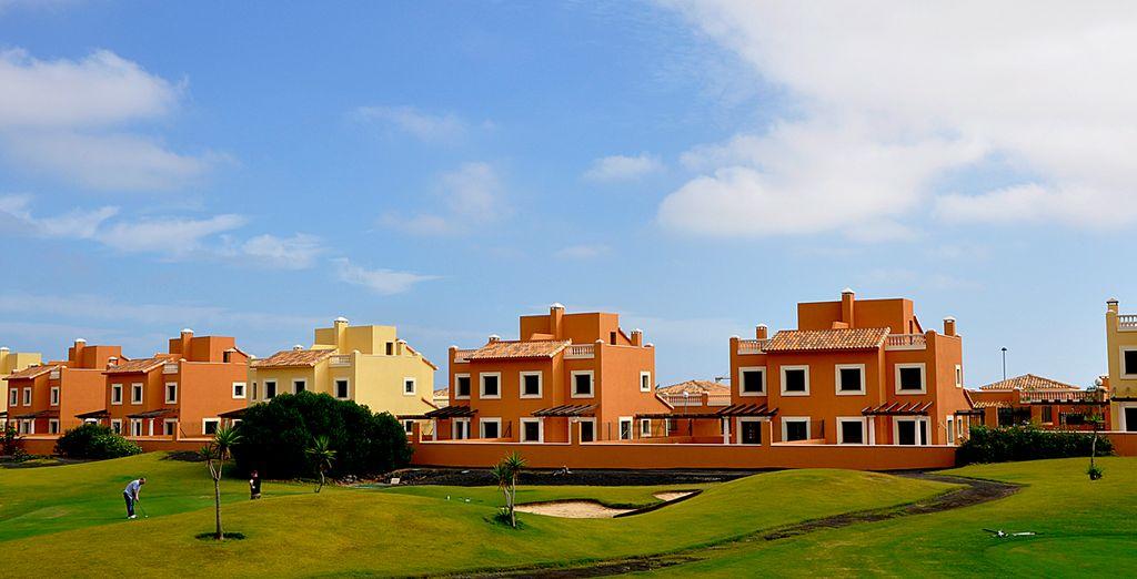 Hotel Mirador de Lobos Golf Resort te da la bienvenida