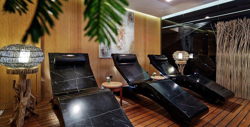 Desconecta de la rutina en la maravillosa sala de relax