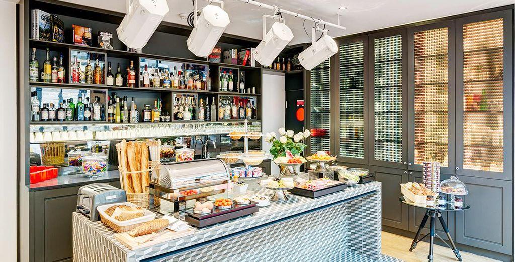 Disfruta de la rica pastelería francesa