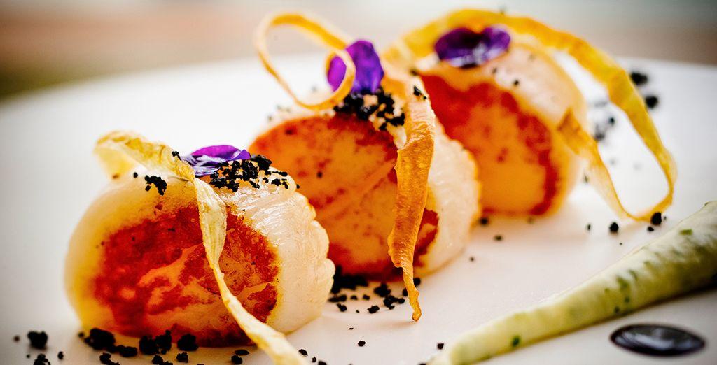 Deleita tu paladar con delicados y sabrosos platos cosmopolitas