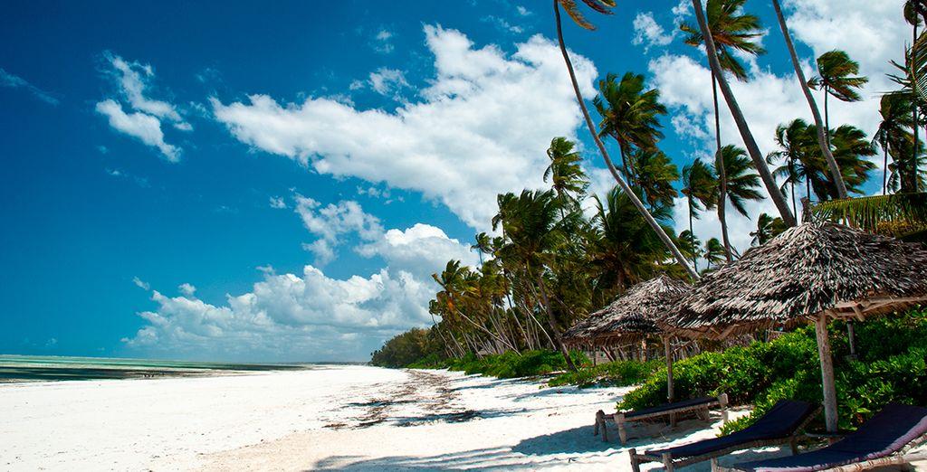 Las exuberantes playas de Zanzíbar