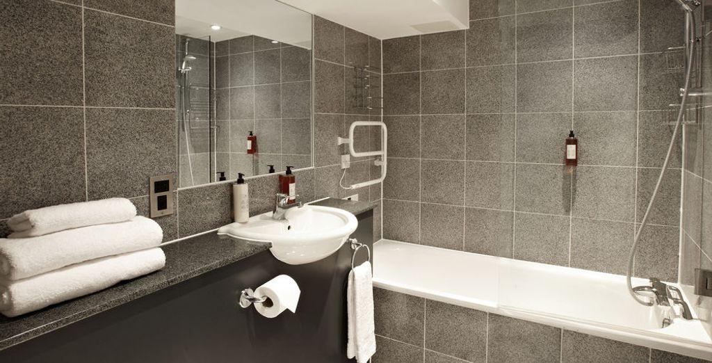 Tu apartamento cuenta con un baño completo