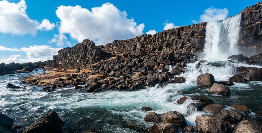 El segundo día viajarás al Parque Nacional de Thingvellir