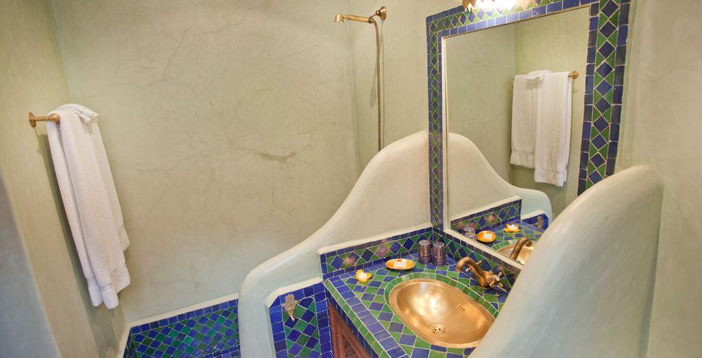 Baños totalmente equipados