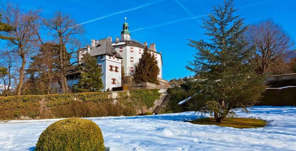 Conocerás lo mejor de la ciudad como el castillo de Schloss Ambras