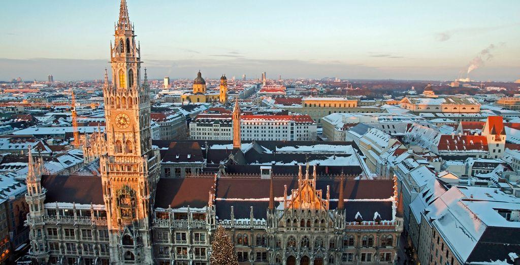 Y como broche final aprovecha para hacer algunas compras o simplemente pasear por Munich